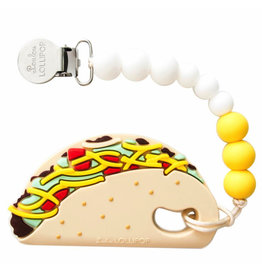 Lou Lou Lollipop Teether Set - Taco