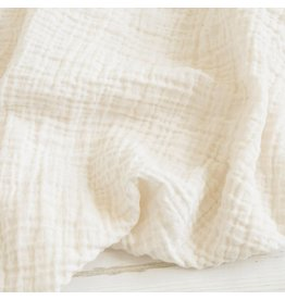 Sugar House Classic Muslin Swaddle - Ivory