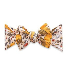 Baby Bling Bows Printed Knot - Foxy