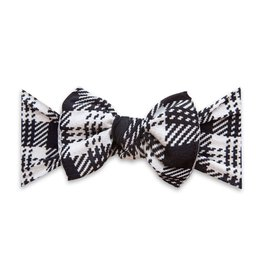 Baby Bling Bows Printed Knot - Knitted Plaid