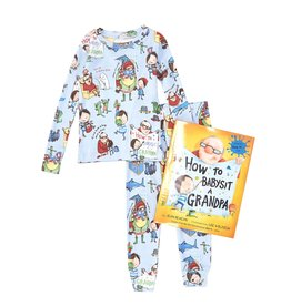 Books to Bed How to Babysit a Grandpa Pajama and Book Set