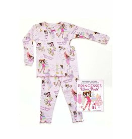 Books to Bed Princess Wears Pants Pajama and Book Set