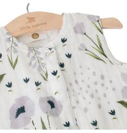 Little Unicorn Cotton Muslin Sleep Bag Medium - Windflower