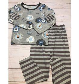 Bestaroo Two Piece Modal Lions Pajama Set (Boys 2T-6Y)