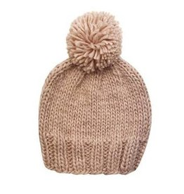 The Blueberry Hill Single Pom Hat - Pale Dogwood Pink