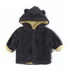 Magnetic Me Magnetic Bears Fleece Hooded Jacket - Grey