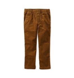 Tea Collection Boys Slim Fit Corduroy Pant - Bark