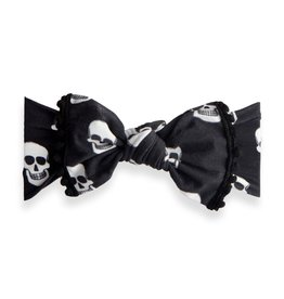 Baby Bling Bows Printed Knot (Skelly)