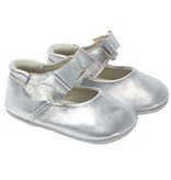 Robeez First Kicks, Sofia Silver Metallic
