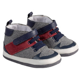 Robeez Mini Shoes, Zachary Navy
