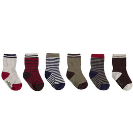 Robeez 6 Pk Socks, Fall 2019 Basics