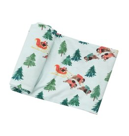 Angel Dear Bison Holiday Swaddle