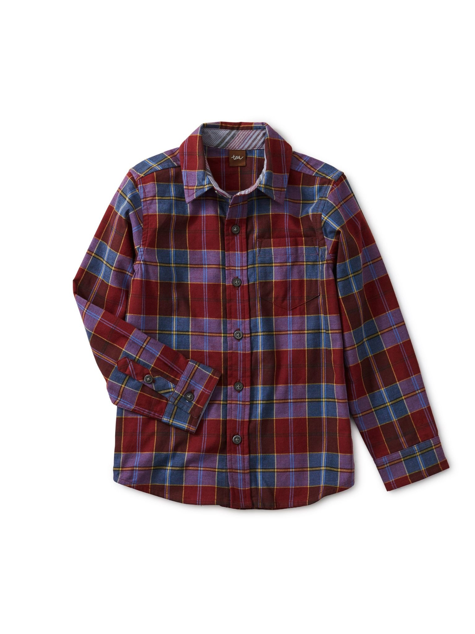 Tea Collection Family Plaid Button Up Shirt - Family Plaid