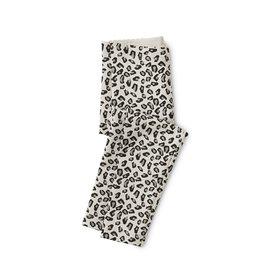 Tea Collection Snow Leopard Print Leggings - Snowy