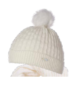 Millymook and Dozer Girls Beanie - Ella Cream (2-7y)