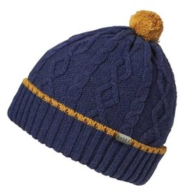 Millymook and Dozer Baby Boys Beanie - Chase Navy Gold L (12-24m)