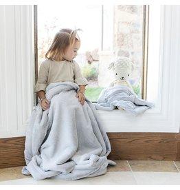 "Saranoni Mini Blanket (15"" x 20"") Mist Lush"