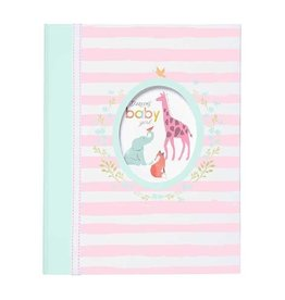 CR Gibson Loose Leaf Memory Book Darling Baby