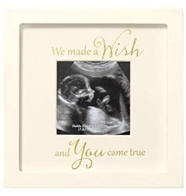 CR Gibson Sonogram Frame - We Made A Wish