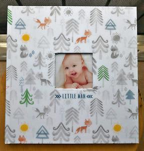 CR Gibson Memory Book Little Man