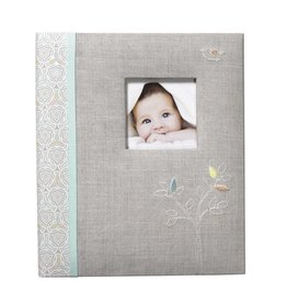 CR Gibson Loose Leaf Memory Book Linen Tree