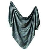 Copper Pearl Knit Blanket - Hunter
