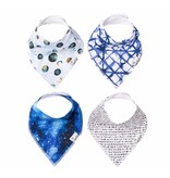 Copper Pearl Bibs - Galaxy Set - 4 pack