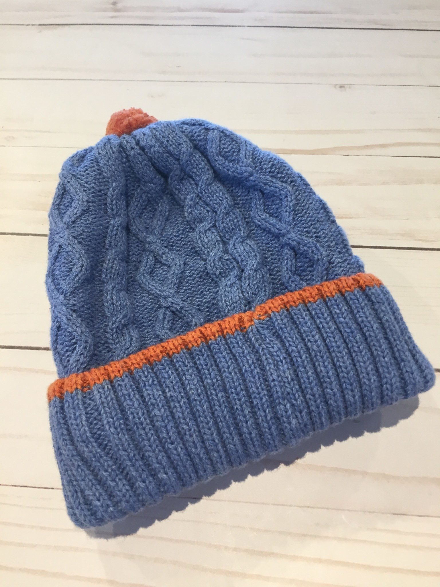 Millymook and Dozer Baby Boys Beanie - Chase Blue L (12-24m)