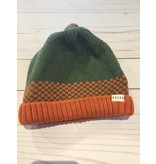 Millymook and Dozer Baby Boys Beanie - Manny Green L (12-24m)