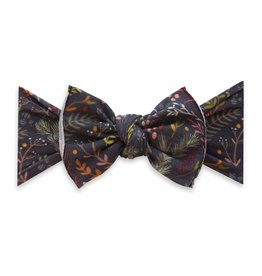 Baby Bling Bows Printed Knot - Black Pine