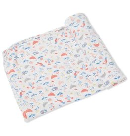 Angel Dear Bamboo Swaddle Blanket - Chickens