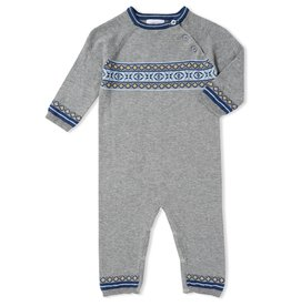 Angel Dear Viking Fair Isle Knits Coverall