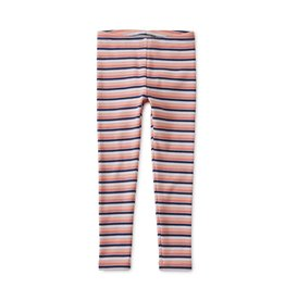 Tea Collection Multi Stripe Ribbed Leggings - Stratus
