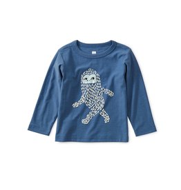 Tea Collection Baby Boy Yeti Storytelling Tee - Cobalt