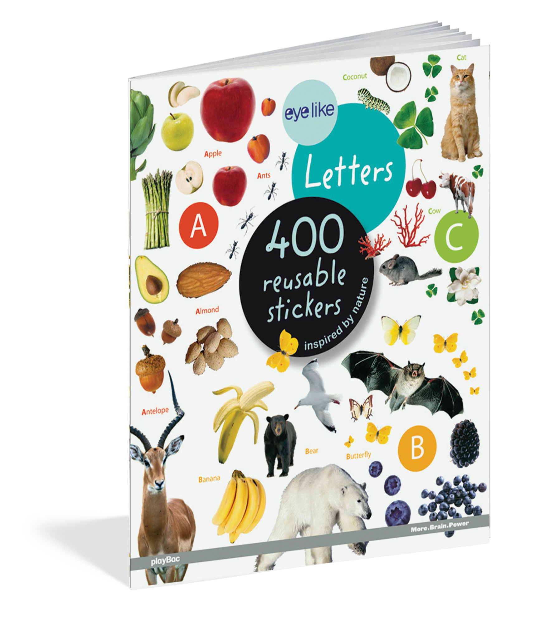 Workman Publishing Eyelike Stickers: Letters