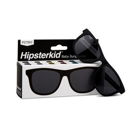 FCTRY Hipsterkid Classics Kids Sunglasses (3-6) - Black UV