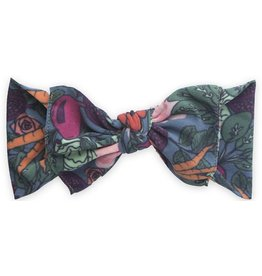 Baby Bling Bows Printed Knot (Veggie Floral)