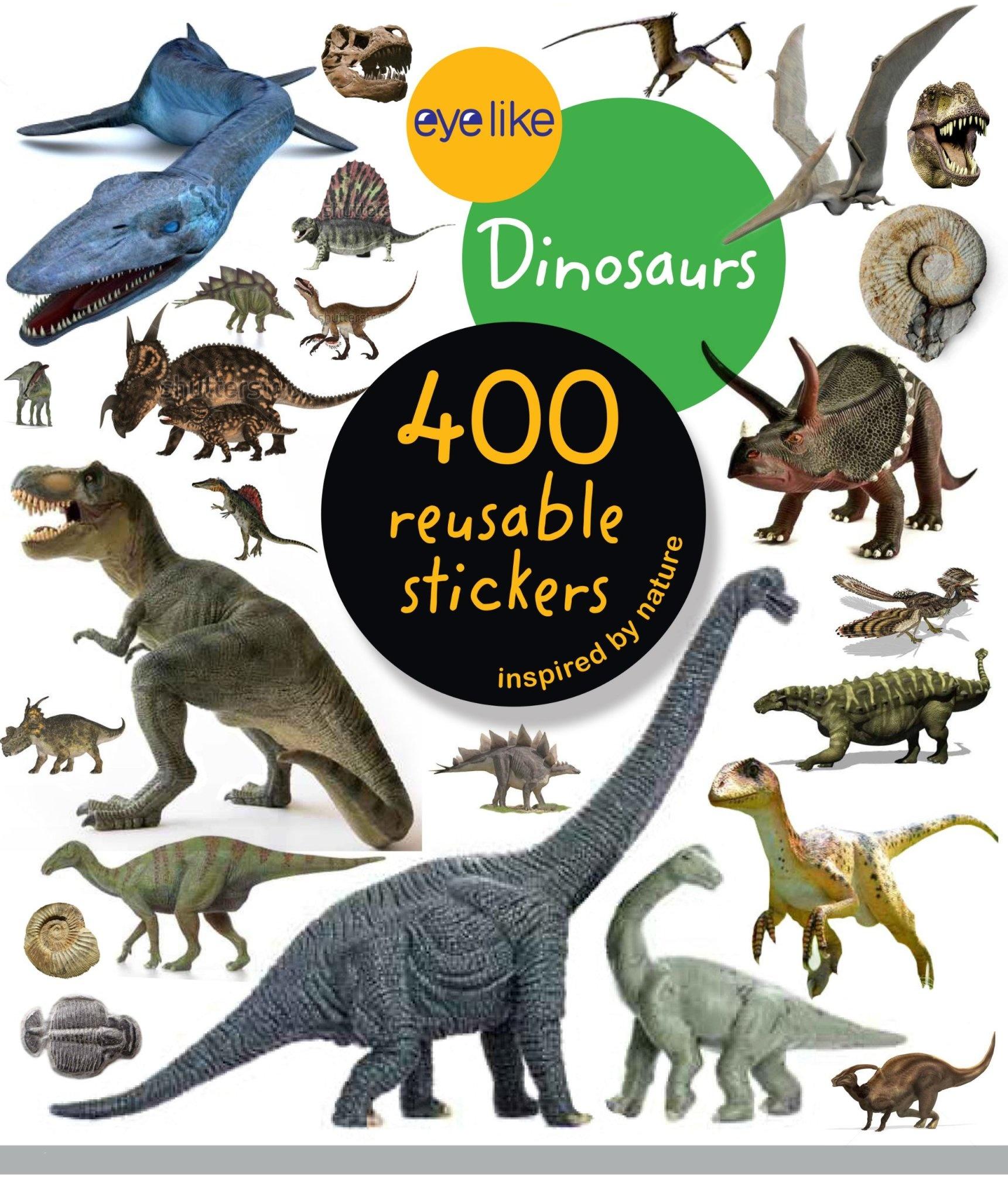 Workman Publishing Eyelike Stickers: Dinosaurs