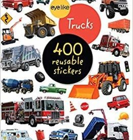 Workman Publishing Eyelike Stickers: Trucks