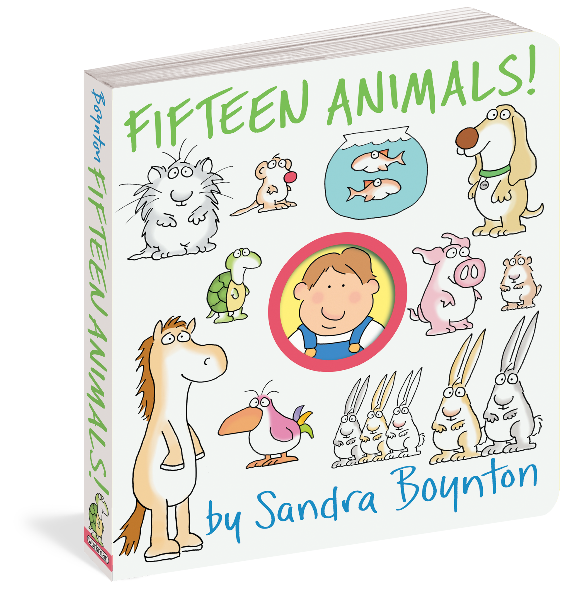 Workman Publishing Boynton, Fifteen Animals