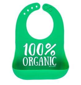 Bella Tunno Wonder Bib, Green Organic