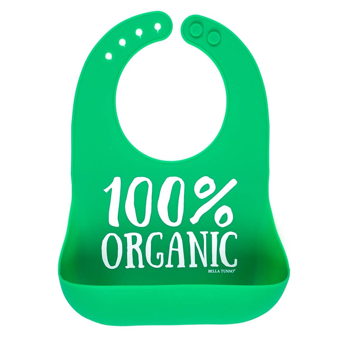 Bella Tunno Wonder Bib, Green Organic