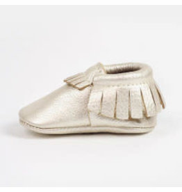Freshly Picked Platinum Moccasin 1