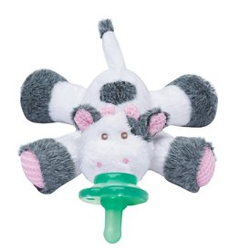 Nookums Pacifier Plushies Buddies - Cutsie Cow