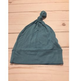 Kickee Pants Solid Knot Hat Blue Moon - Nb-3 Months