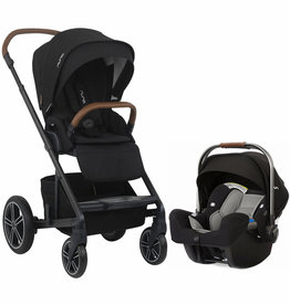 Nuna MIXX + Pipa + Base Travel System - Caviar