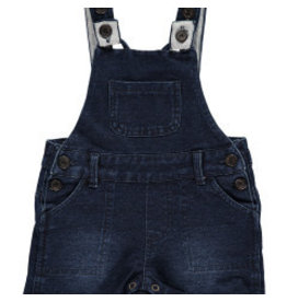 Me + Henry Denim Effect Shortie Overall 12-18M