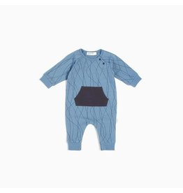 Miles Baby Baby Playsuit Knit - Alpine Club Boy