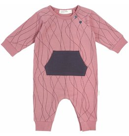 Miles Baby Baby Playsuit Knit - Alpine Club Girl