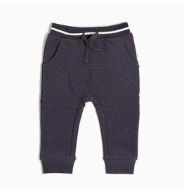 Miles Baby Jogger Pant Knit - Dark Grey Skis